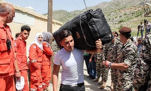 لبنان سے 500 شامی مہاجرین کی وطن واپسی