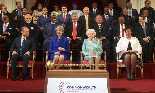 Queen puts forward son as next head of Commonwealth