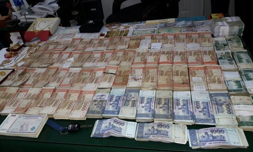 NAB finds cash, valuables worth millions at residence of LG secretary's assistant