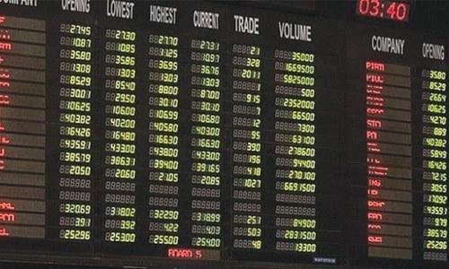 اسٹاک مارکیٹ میں مندی، انڈیکس میں 91 پوائنٹس کی کمی