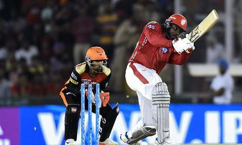 Gayle turns back the clock, smashes first ton of IPL 2018