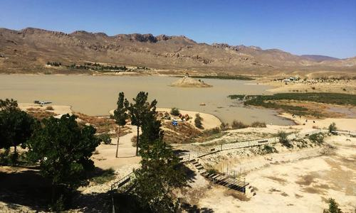 Rain water revives Quetta's Hanna Lake, brings tourists to its banks