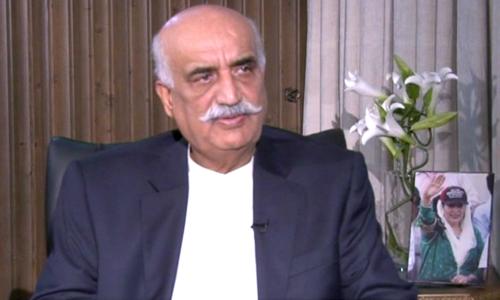 خورشید شاہ کی عدلیہ کی سول معاملات میں مداخلت پر تنقید