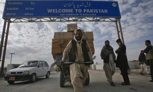 پاکستان، افغانستان دو طرفہ تجارتی مسائل حل کرنے پر رضامند