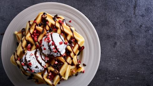 My quest for the best waffles in Karachi