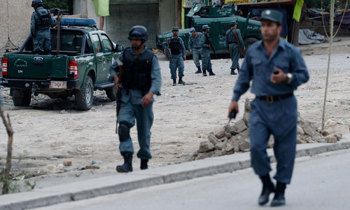 Taliban kill six at police checkpoint, says Afghan official