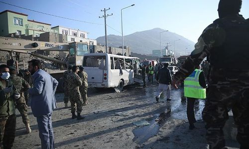 4 killed in suicide attack on Kabul voter registration centre