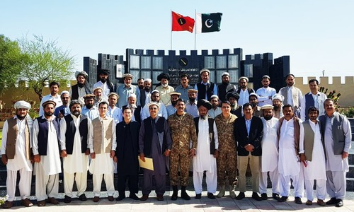 Jirga held in Miranshah to discuss compensation for local shopkeepers, says ISPR