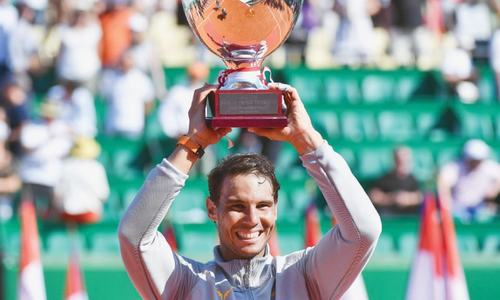 Nadal swats aside Nishikori to win 11th Monte Carlo title