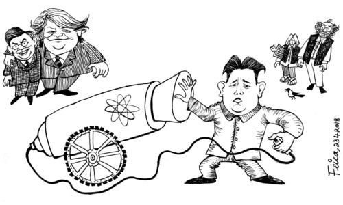 Cartoon: 23 April, 2018