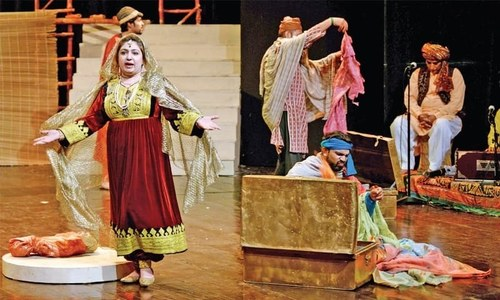 Two Ajoka plays tell stories of political upheaval and Pakistan's rocky democratic journey