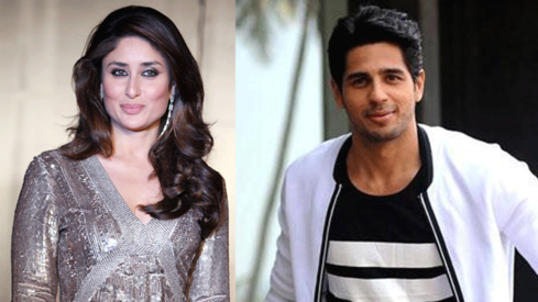 Will Sidharth Malhotra romance Kareena Kapoor in upcoming flick?