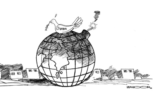 Cartoon: 25 April, 2018