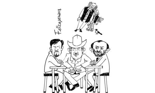 کارٹون : 25 اپریل 2018