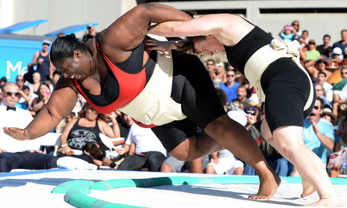 Banning women from the sumo ring is groundless in this day and age