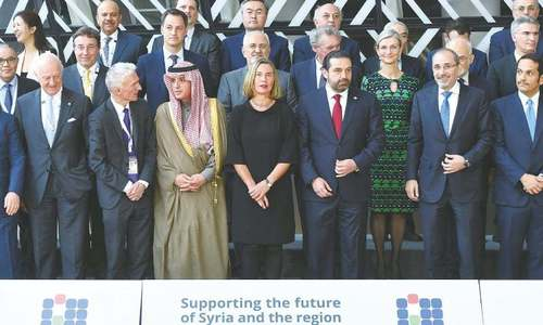 Donors pledge $4.4bn for Syria, well short of target