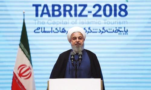 Tehran dismisses Trump-Macron call for fresh nuclear deal