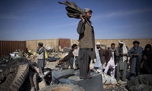 US watchdog points to lack of oversight for Afghan donations