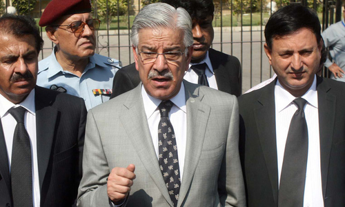 'Khawaja Asif disqualified under Article 62(1)(f),' IHC rules 'with a heavy heart'