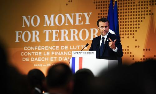 Over 70 countries pledge to combat terror financing