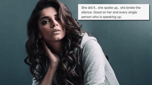 For anyone afraid to speak up about sexual harassment, we are here to support you: Sanam Saeed