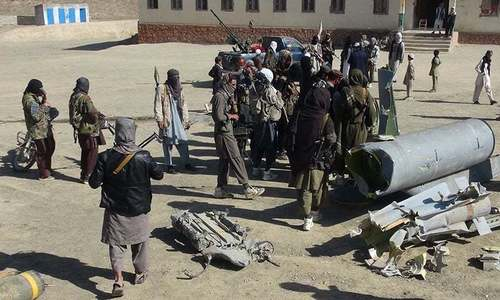 Taliban seize Afghan district centre, attack army base