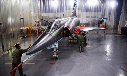 Thrifty at 50: How the Pakistan Air Force keeps ageing Mirages flying