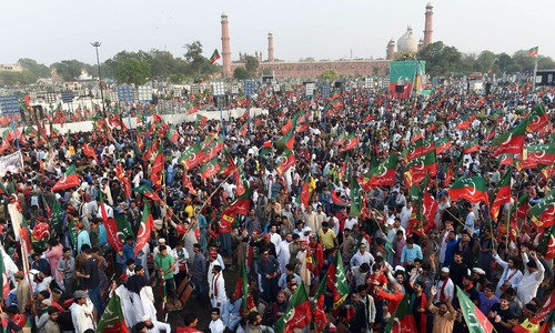 Political temperatures rise as PPP, PTI and JUI-F hold power shows