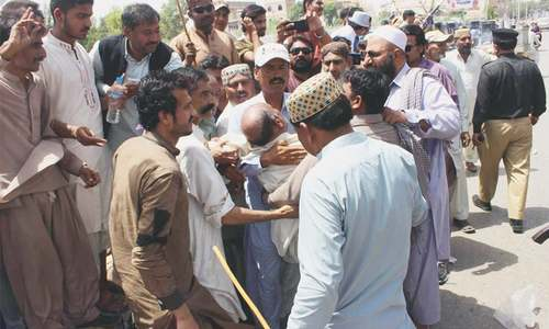 Election for Sindh PML-N president causes discontent, brawl