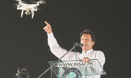 Imran floats agenda for 'new Pakistan'