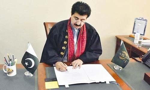Sanjrani calls for labour representation in parliament