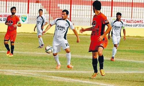 Three years of football turmoil have levelled the playing field in Pakistan