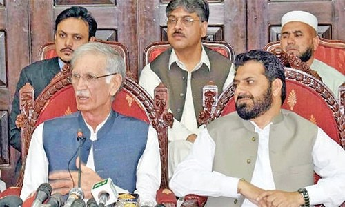 After JI exit, Khattak claims he'll stay put as CM