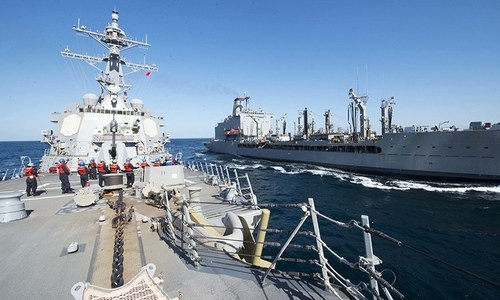 US Navy reactivates Cold War era fleet for Atlantic