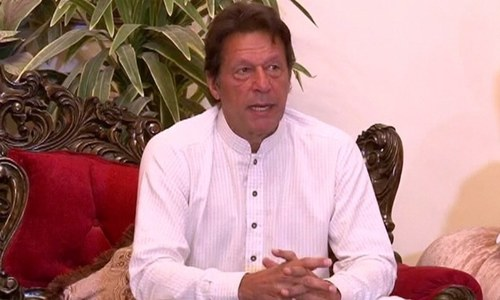 Chief justice is doing what should be done by govt regulators, says Imran