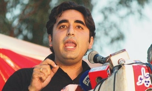Bilawal invites PTI to go ahead with May 12 rally at Hakeem Saeed Ground