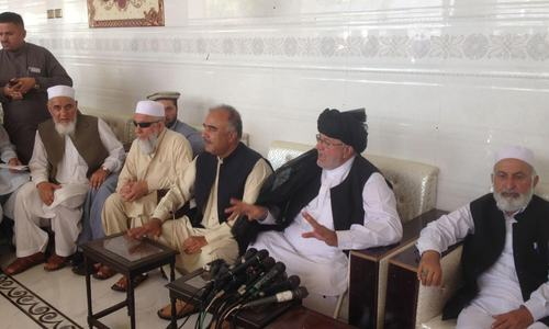 Govt-backed jirga calls for restraint as police file 3 FIRs against PTM leaders in Karachi