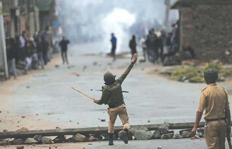 Footprints: Held-Kashmir's new normal