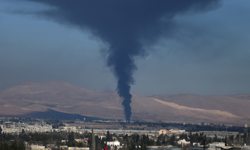 Israel bombs 'Iran targets' in Syria, blames Tehran for flare-up