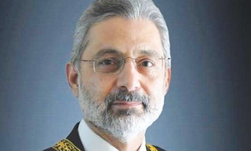 Justice Qazi Faez Isa questions 'unwarranted and unprecedented' reconstitution of bench by CJP