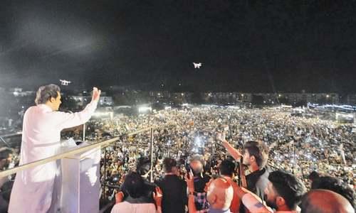 Imran unveils 10-point agenda for Karachi