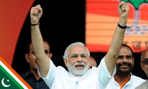 Polls suggest Modi's BJP may be leading in state election