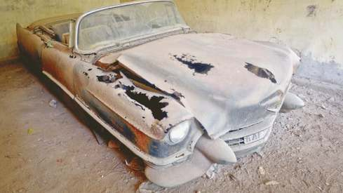 The journey of Fatima Jinnah's cars from decay to brand new
