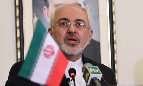 Iran's foreign minister in Moscow to save nuclear deal