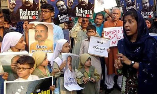 The anguish caused by enforced disappearances