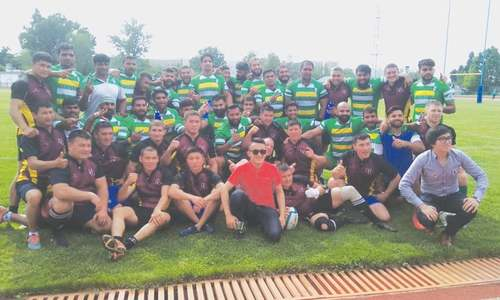 Pakistan beat Kyrgyzstan in international rugby to reach final