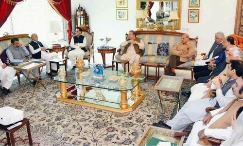 PML-N huddle to deliberate on election candidates