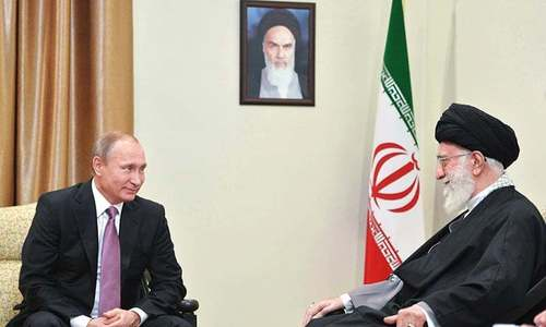 Russia, China tighten ties with Iran; EU faces tough time