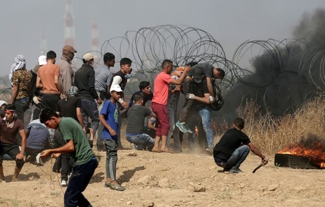 Israel's response to Gaza protests 'wholly disproportionate': UN rights chief