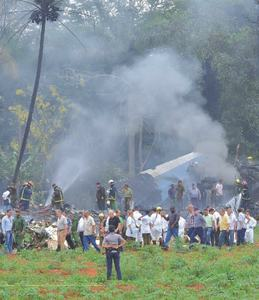 Plane with 104 on board crashes in Cuba